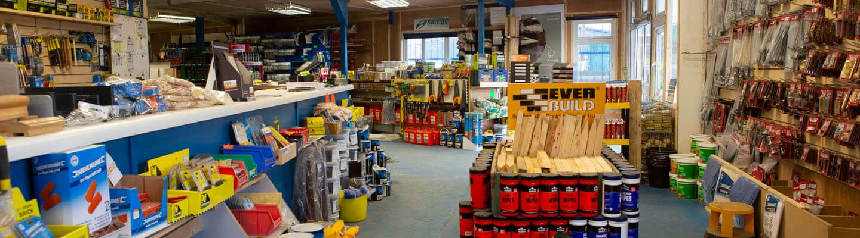 Inside of Ilkeston Ply shop